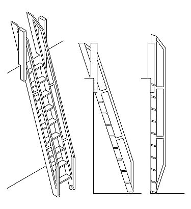 Retractable Ladder
